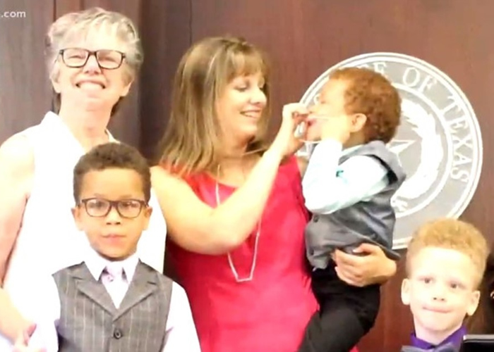 Single mom encourages foster parents after adopting 3 brothers featured in Wednesday's Child