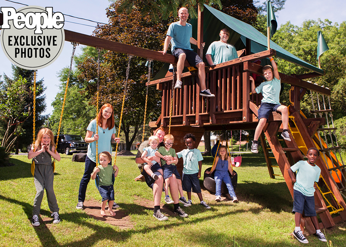 Parents of 10 Give Great Life to 6 Adopted with Fetal Alcohol Spectrum Disorders